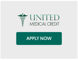 United Medical Credit  with Apply Now Button