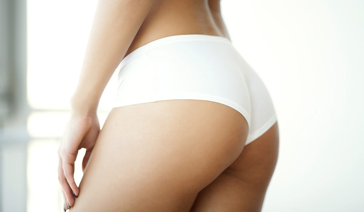 slim Woman with buttlift