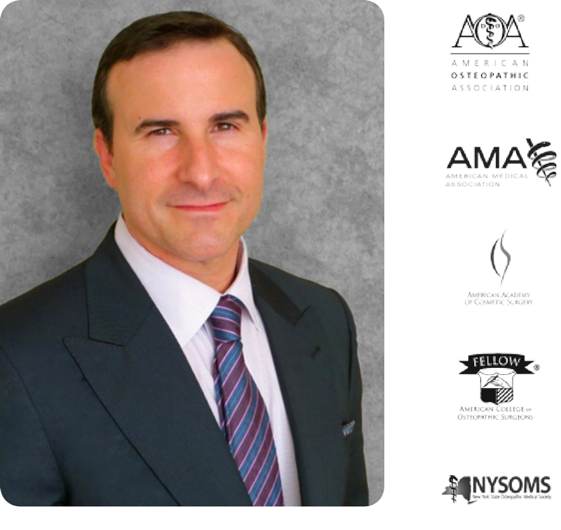 Dr. Anthony Buglino headshot with awards